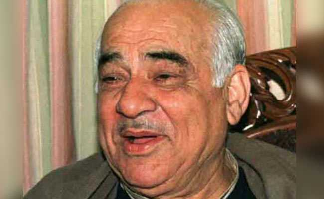 Last Rites For Madan Lal Khurana Held, 2-Day State-Mourning In Delhi