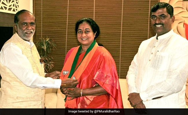 Telangana Congress Leader's Wife Joins BJP Only To Return In 10 Hours