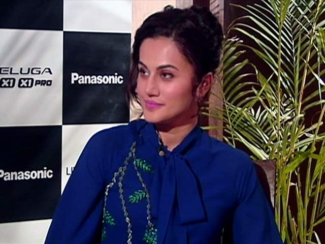 Video : Taapsee Pannu On Selfie Wishlists And Tech