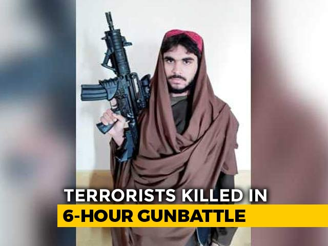 Video : Jaish Chief's Nephew Killed In Kashmir Encounter, Carbine Rifle Recovered