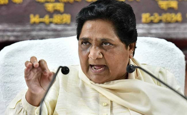 Anti-Dalit Elements Wanted To Kill Me During Saharanpur Clashes: Mayawati
