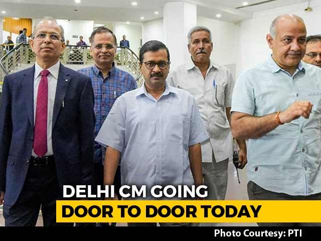 Video : Arvind Kejriwal To Launch AAP's Door-To-Door Campaign Today For 2019