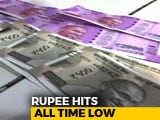 Video : Rupee Falls To All-Time Closing Low Of 74.39 Against Dollar