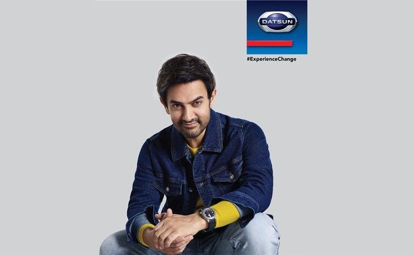 Aamir Khan will be seen in Datsun India's new brand campaign