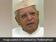 ND Tiwari, Former Uttarakhand Chief Minister, Dies On His 93rd Birthday