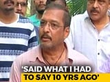 Video: Lawyers Asked Me Not To Talk To Media On Tanushree's Claim: Nana Patekar
