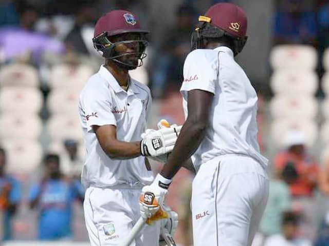 India vs Windies 2nd Test: Roston Chase Spearheads Windies Fightback on Day 1