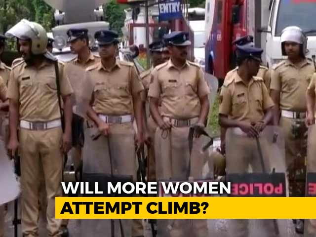 Video : Day 4 Of Sabarimala Temple Opening; Heavy Security Deployed At Base Camp