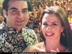 Inside Arbaaz Khan And Rumoured Girlfriend Giorgia Andriani's Navratri Celebrations