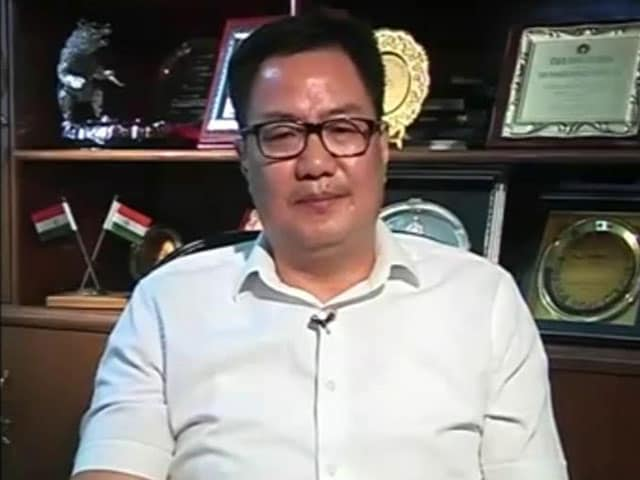 Video : Living In A Clean Environment Is Our Basic Right: Kiren Rijiju