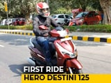 Video : Hero Destini 125 First Ride Review