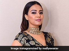Swara Bhasker's Gold And Black <i>Saree</i> Is Perfect For The Festive Season. Here's How To Get The Look