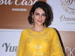 Get The Look: Mandana Karimi's Festive Yellow Outfit