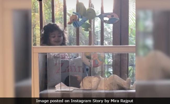 First Pic Of Shahid Kapoor And Mira Rajput's Son Zain With Big Sister Misha