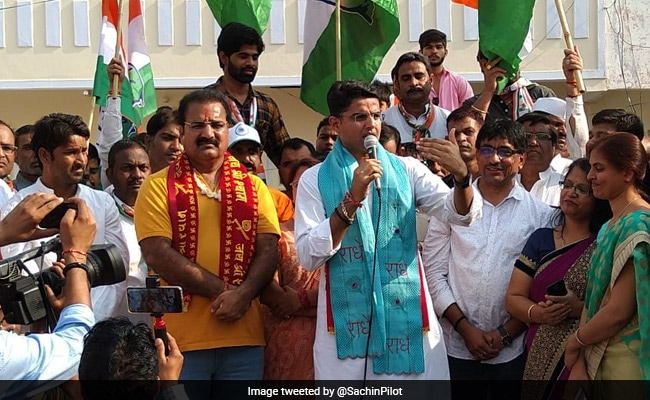 BJP Will Go Out Of Power From Rajasthan, Congress Will Win: Sachin Pilot