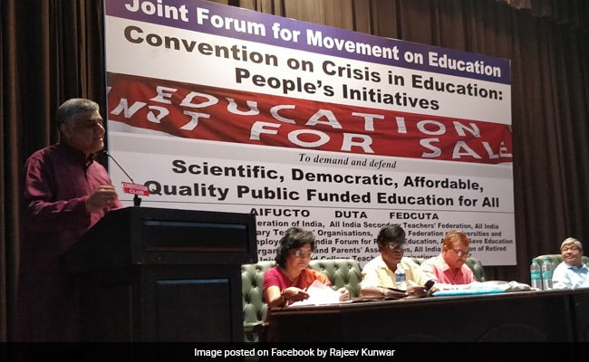 National Convention Calls For 'Alternative Policy To Restore Public Trust In Education'