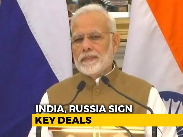 Video : Russia A Partner In Our Progress, Says PM Modi At Joint Press Conference