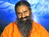 Video : Baba Ramdev Asks To Provide Water Along With Toilets