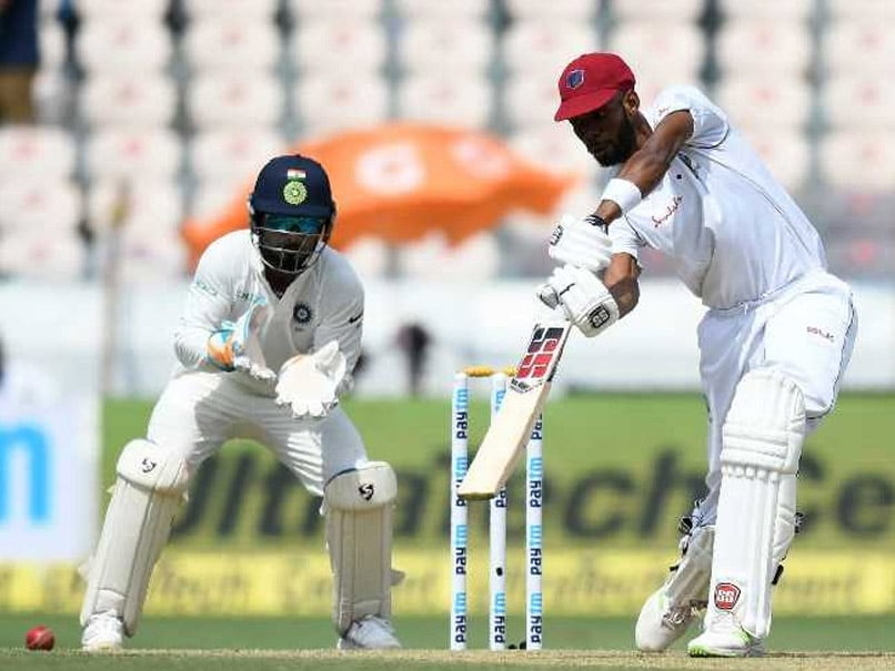 India vs West Indies Highlights, 2nd Test Day 1: Roston Chase Leads Windies Fightback vs India