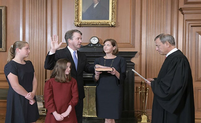US Senate confirms Brett Kavanaugh as Supreme Court justice
