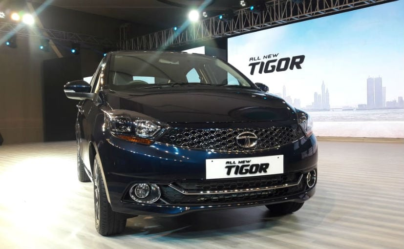 Tata Tigor facelift launched at Rs 5.20 lakh