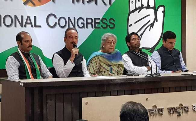 पूर्व केंद्रीय मंत्री कर्ण सिंह के पुत्र विक्रमादित्य सिंह ने थामा कांग्रेस का दामन