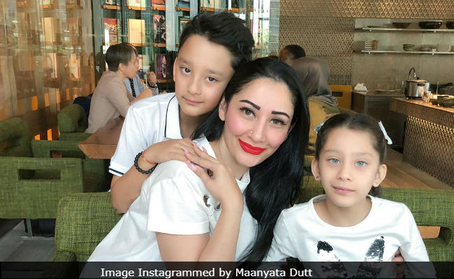 Maanyata Dutt's Birthday Post For Shahraan And Iqra Is Way Too Cute To Be Missed