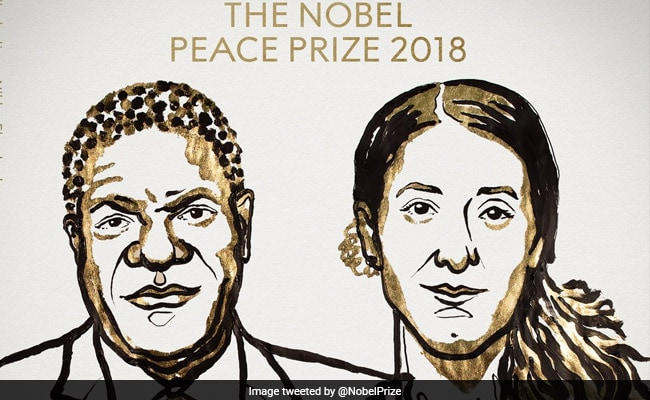 Nobel Peace Prize Awarded To Physician Mukwege, Yazidi Rape Victim Murad