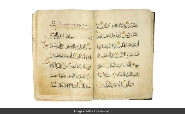 Islamic, Indian Medieval Artefacts To Be Auctioned At Christie's London