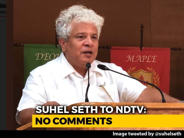 Video : Tata Sons Ends Contract With Suhel Seth Over #MeToo Allegations