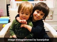 This Pic Of Karan Johar's Twin's Yash And Roohi Will Make Your Day