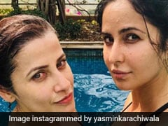 Katrina Kaif Is Giving Us Major Fitness Goals By Doing Aqua Aerobics! Try This Before The Season For It Ends