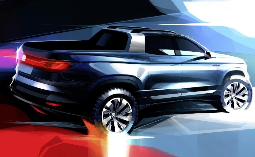 Volkswagen Teases New Pickup Concept Ahead Of Sao Paulo Motor Show