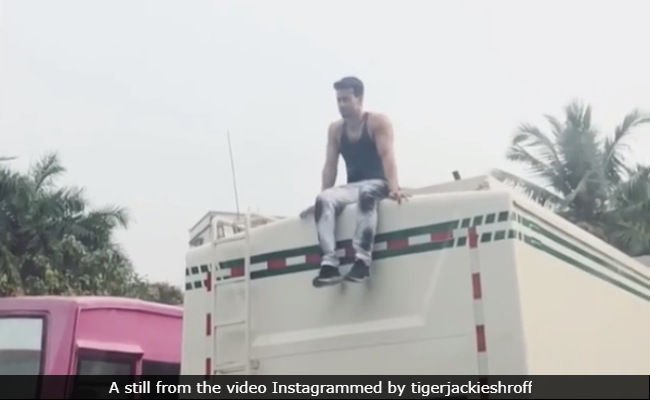 When Tiger Shroff 'Doesn't Feel Like Working,' He Is Busy 'Chilling.' This Video Is Proof