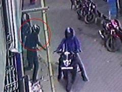 गुटका खाने को लेकर विवाद होने पर दुकानदार को मारी गोली, CCTV में कैद हुई वारदात