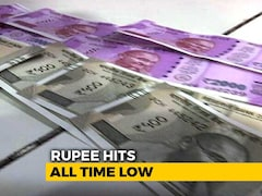 Video: Rupee Falls To All-Time Closing Low Of 74.39 Against Dollar