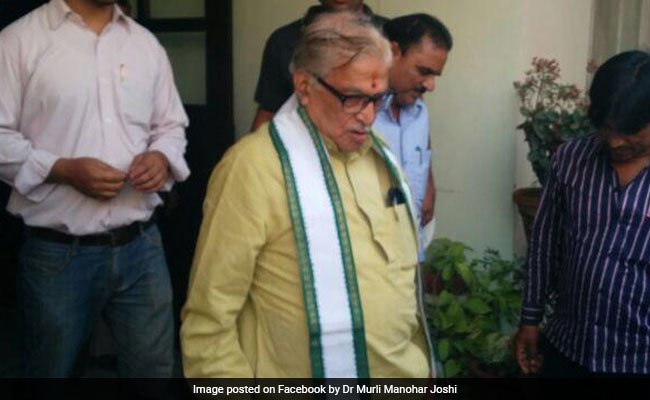 BJP Lawmakers Face-Off With Murli Manohar Joshi On GDP Growth Report