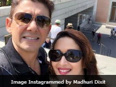 Madhuri Dixit Borrows A <i>Dil Toh Pagal Hai</i> Line For Wedding Anniversary Post