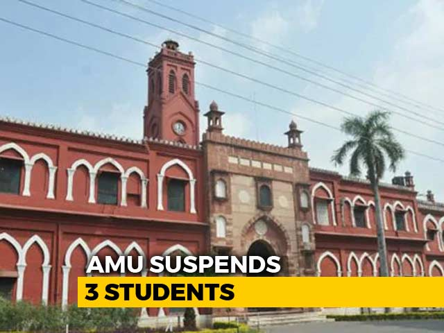 Video : Sedition Case Against 3 AMU Students Over Tribute Event For Terrorist