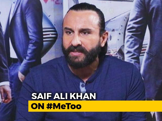 Some Terrible Things Have Happened: Saif Ali Khan On #MeToo