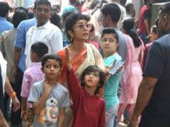 Navami 2018: Kiran Rao And Little Azad Spotted At A Durga Puja <I>Pandal</I> Minus Aamir Khan