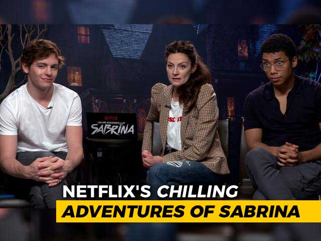 Video : <i>The Chilling Adventures Of Sabrina</i> Cast Talk About The Dark Side