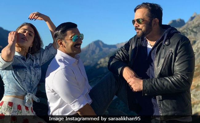 Inside Sara Ali Khan And Ranveer Singh's 'Sweet Swiss Shenanigans' On The Sets Of Simmba