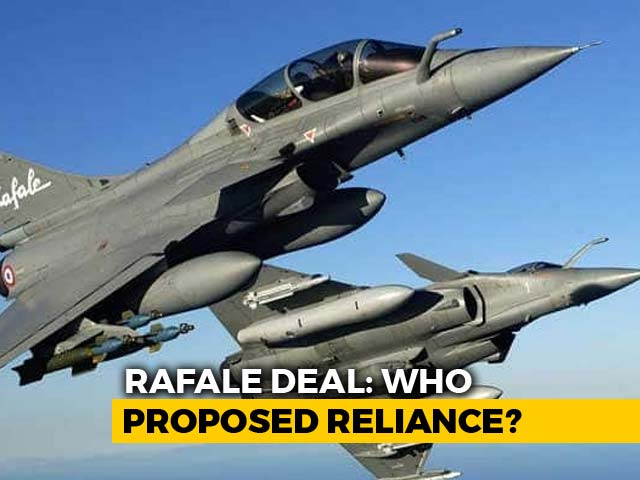 Video : Report Claims Proof Of Reliance As A Must For Rafale, Dassault Denies
