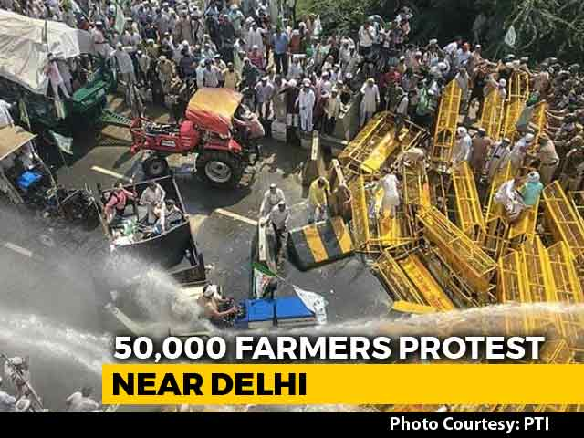 Video : Are Delhi's Doors Closed To Protesting Farmers?