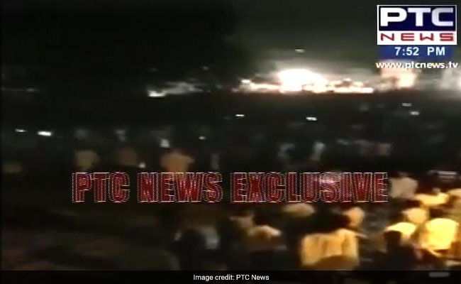 Many Killed As Train Runs Over People Watching Ravan Burning