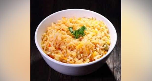 Mavinakayi Nellikai Chitranna (Raw Mango & Gooseberry Rice)