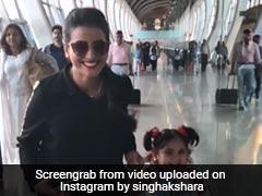 भोजपुरी एक्ट्रेस अक्षरा सिंह ने एयरपोर्ट पर किया ऐसा बचपना, Video हुआ वायरल