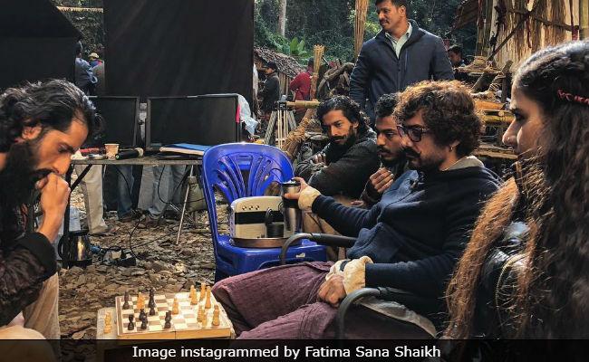 What Aamir Khan Did In Between Thugs Of Hindostan Takes