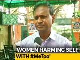 "Video : ""Women Take 2-4 Lakh, Target Men"": BJP Lawmaker's #MeToo Shocker"